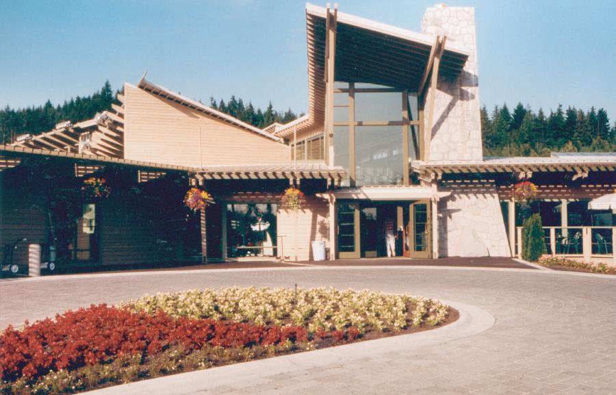 Front Entry / Pro Shop + Restaurant Terrace