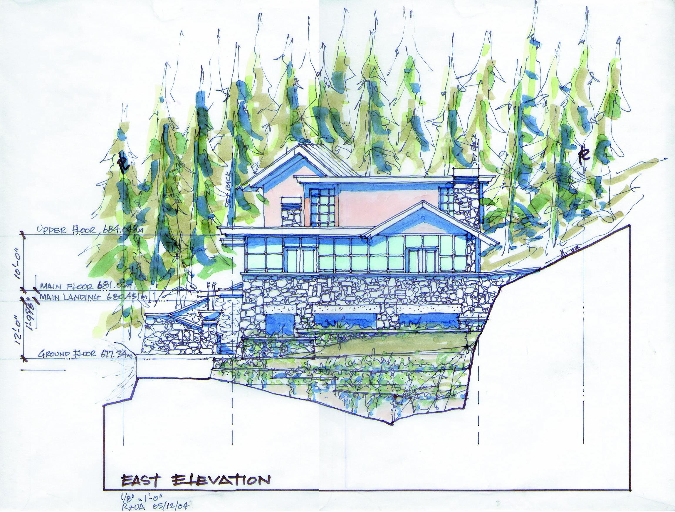 East Elevation Composite