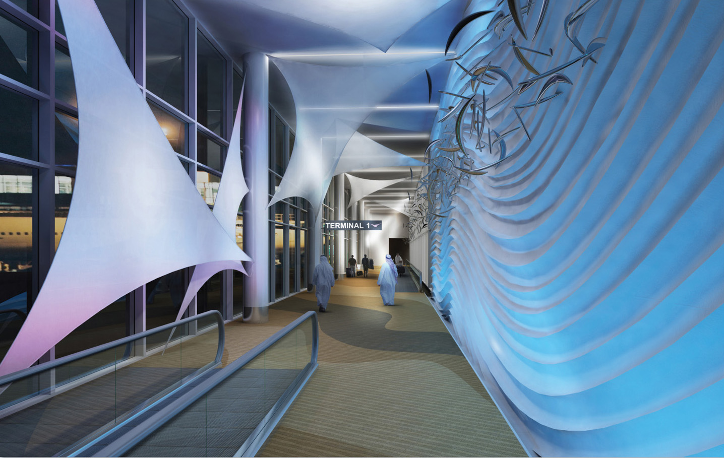 Sterile Corridor - Night View