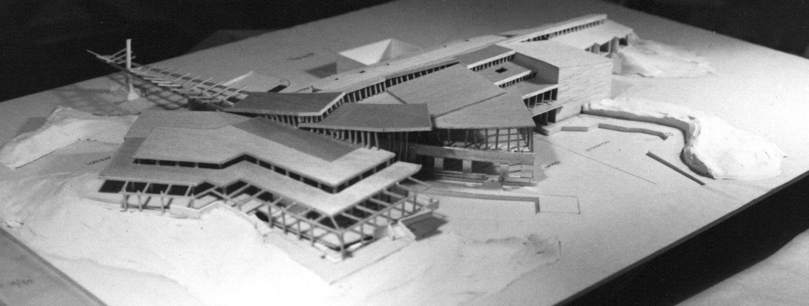 Design Model - Aerial View of South Elevation
