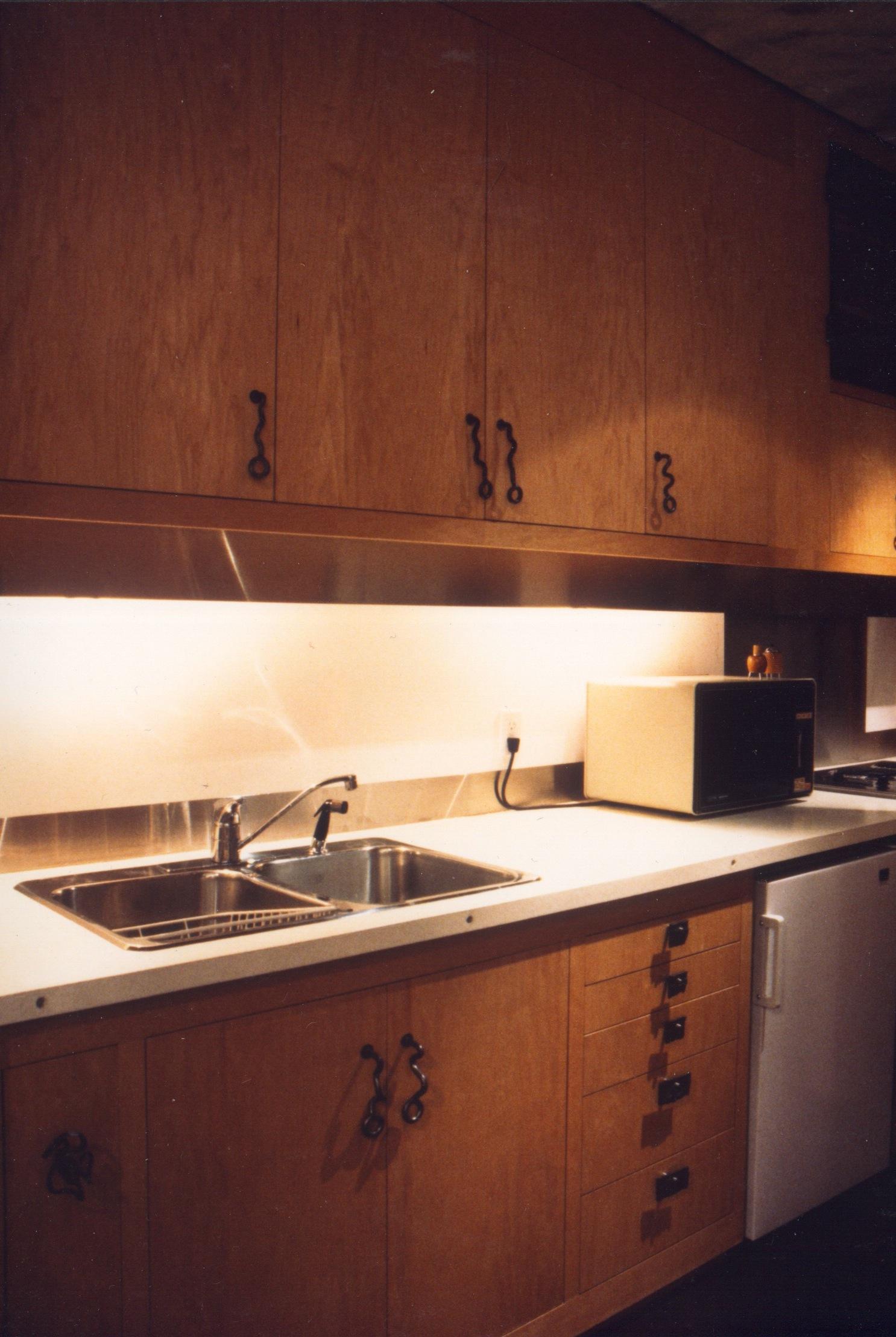 Kitchen - Hidden Valence / Handmade Hardware