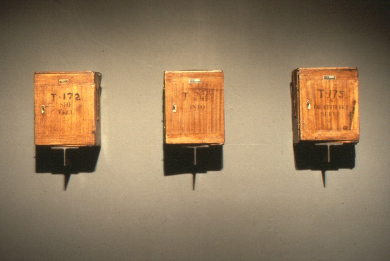 Wall Mounted Instrument Boxes - Closed