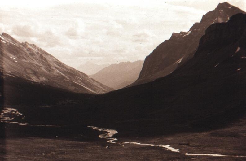 Jonas Pass, Rocky Mountains, Alberta VHS 1984
