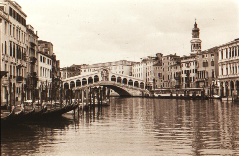 Rialto Bridge, Venice, Italy VHS 1994
