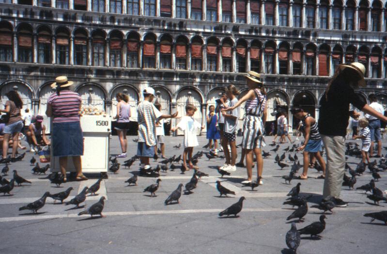 San Marco Square, Venice, Italy 1994