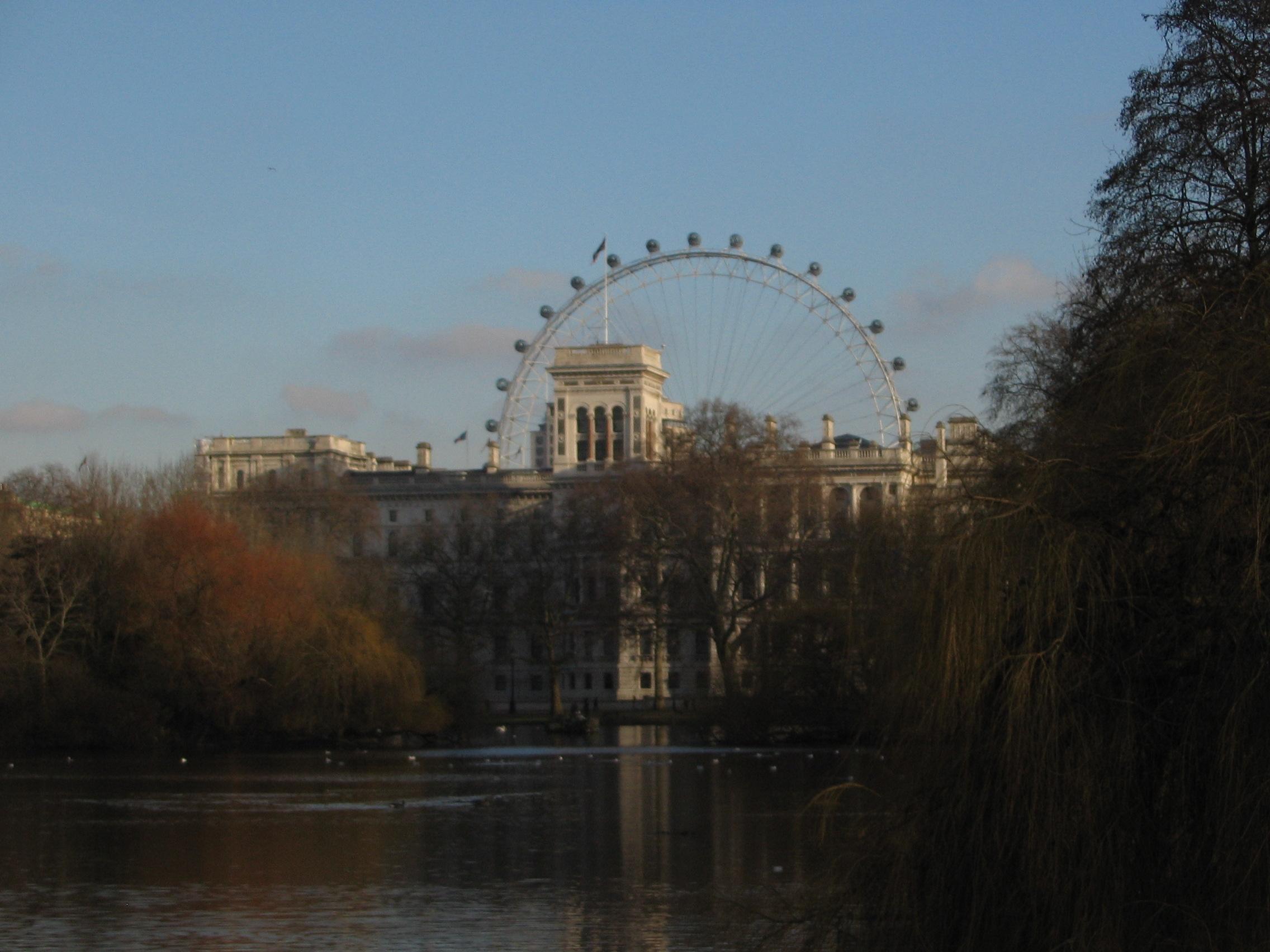St. James Park & Millenium Wheel, London, UK VHS 2009