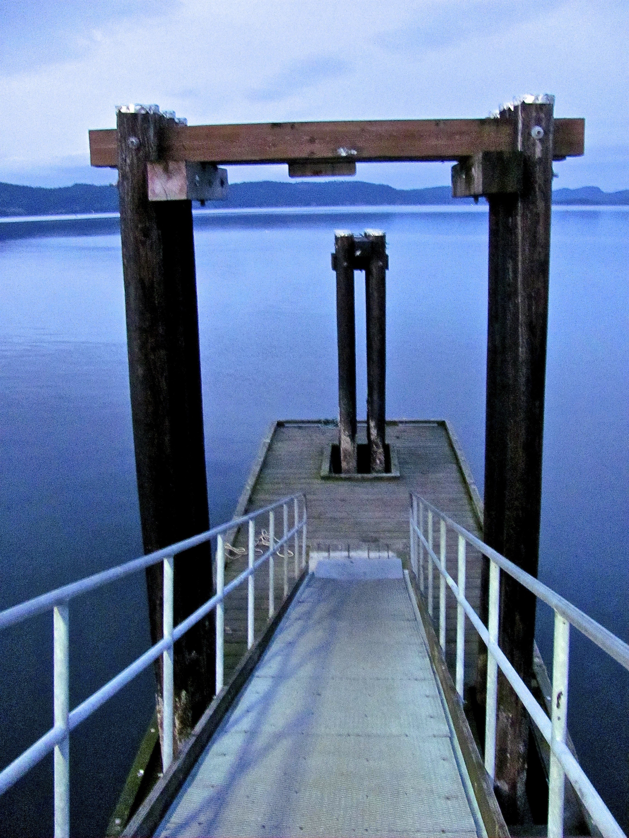 Wharf, Saltspring Island, British Columbia VHS 2012