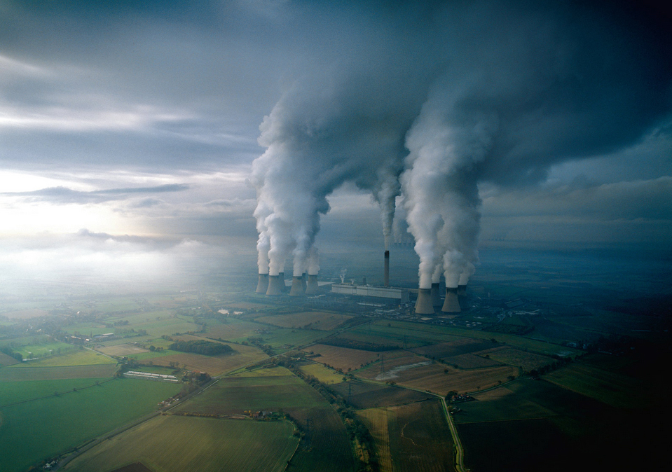 Coal Fired Plant, England, Jason Hawkes (  www.jasonhawkes.com ) , National Geographic