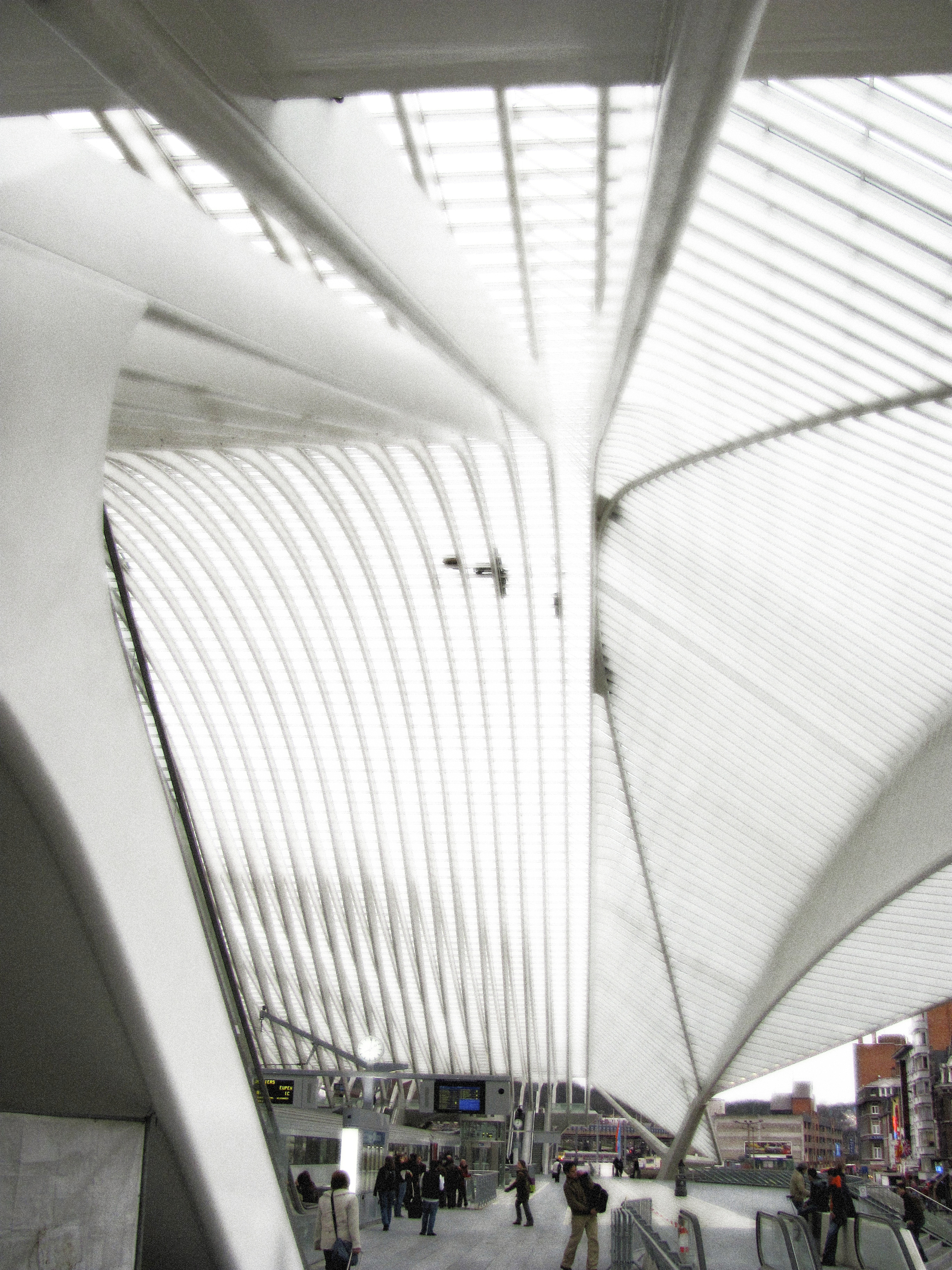 Great Hall 1, Train Station, Liege, 2010