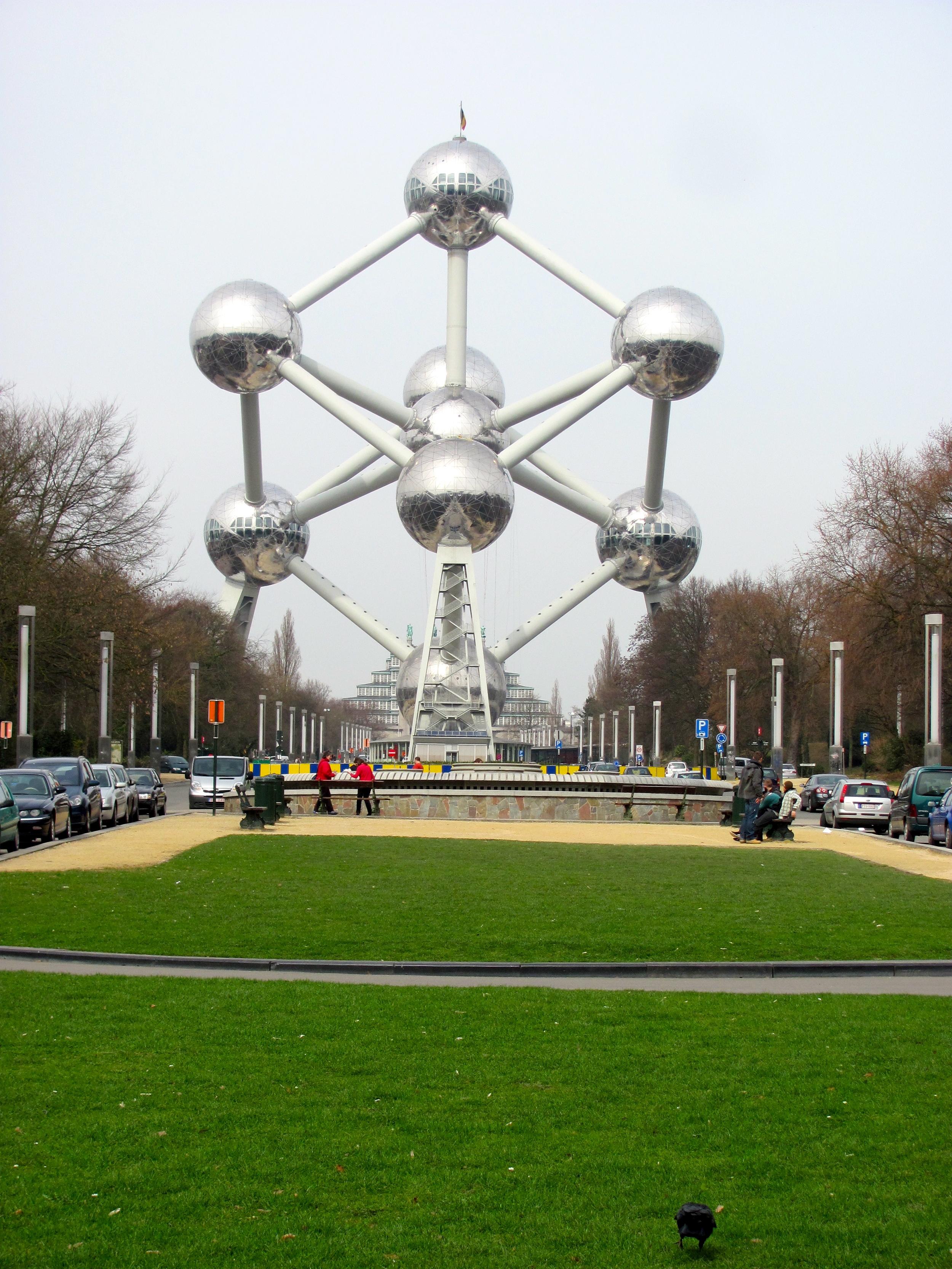 Atomium, Brussels, Belgium, VHS 2010