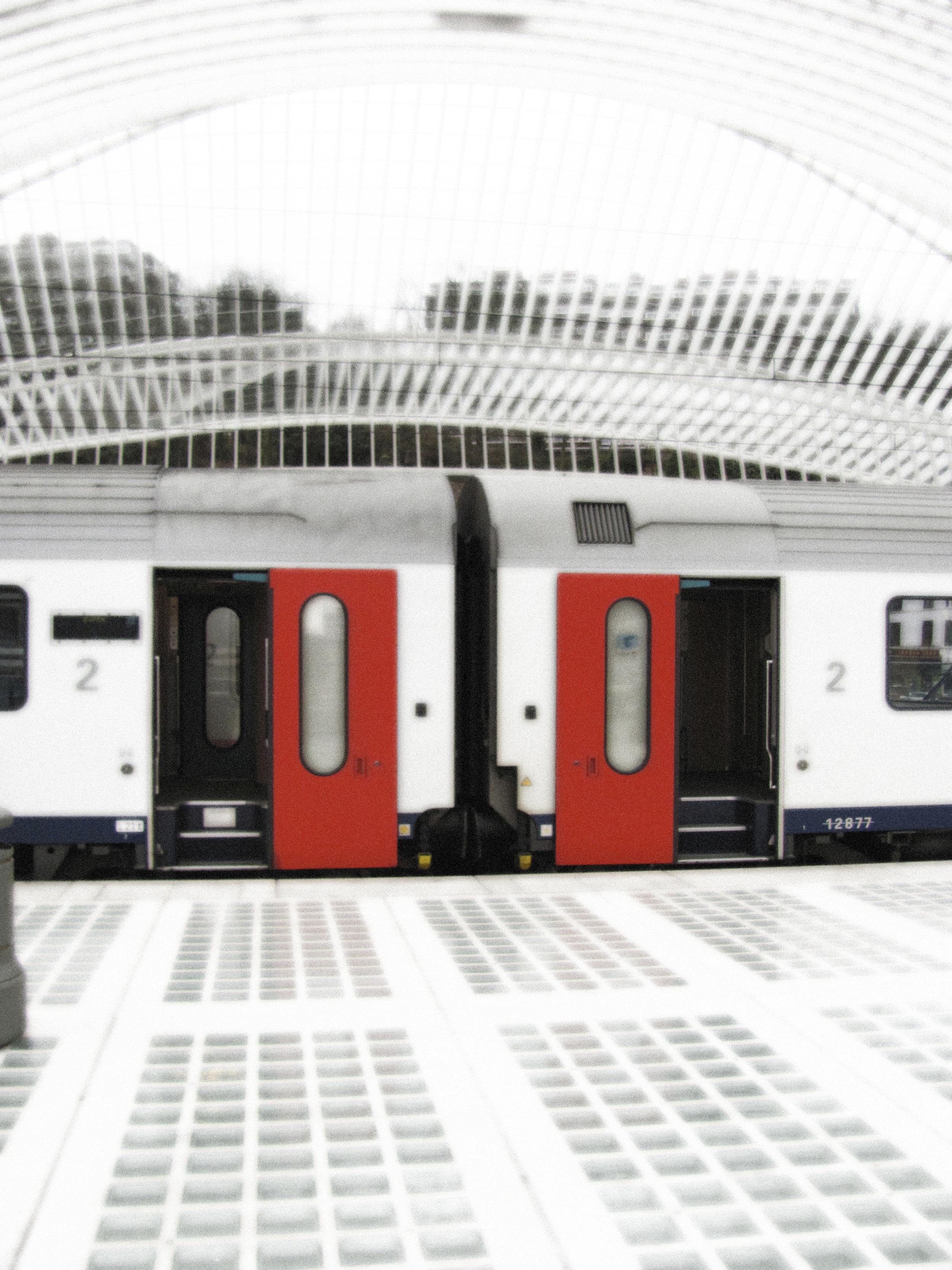 Train Car Red Door, Liege, VHS 2010