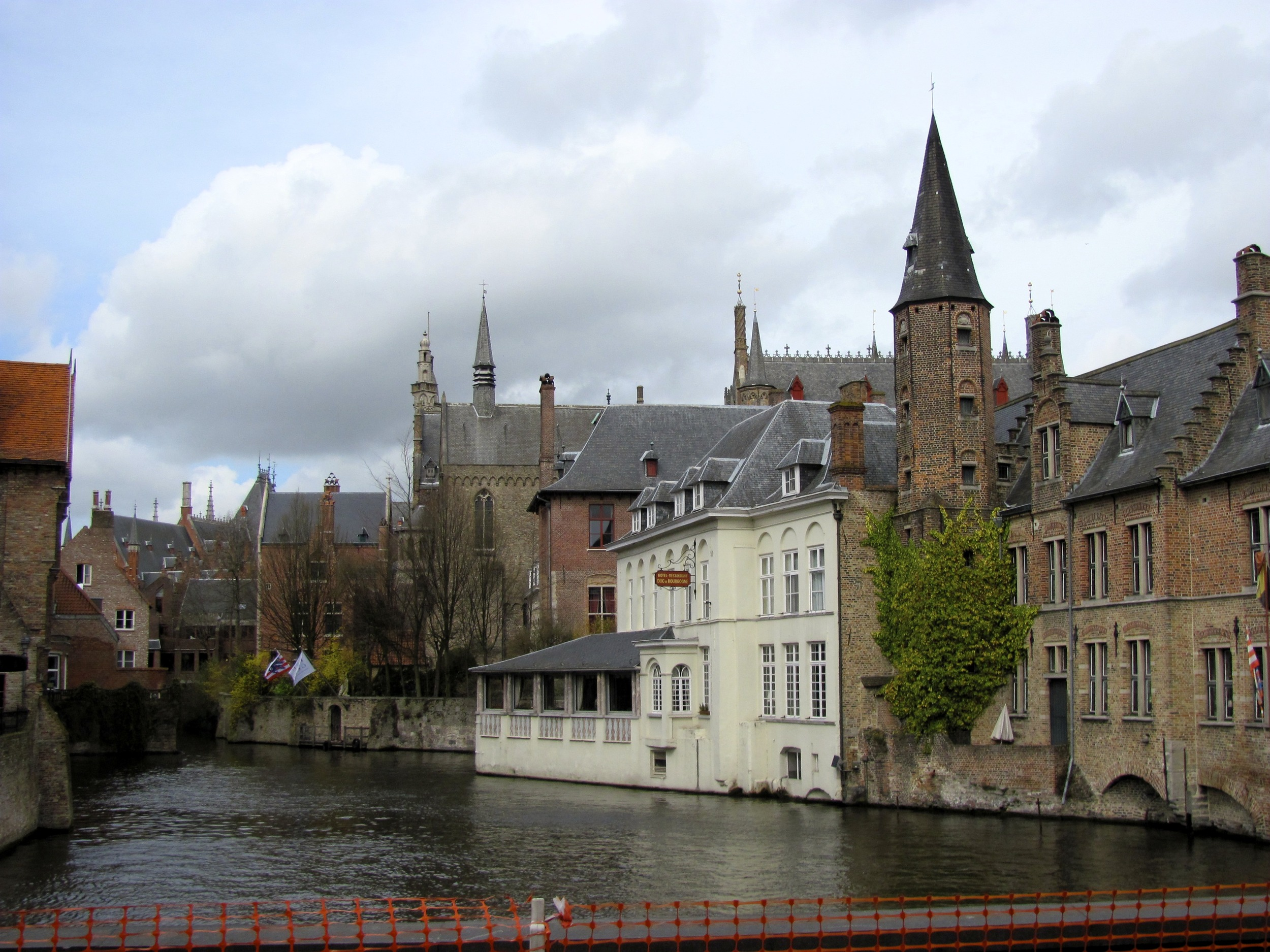 Canal view, Bruges, Belgium, VHS 2010