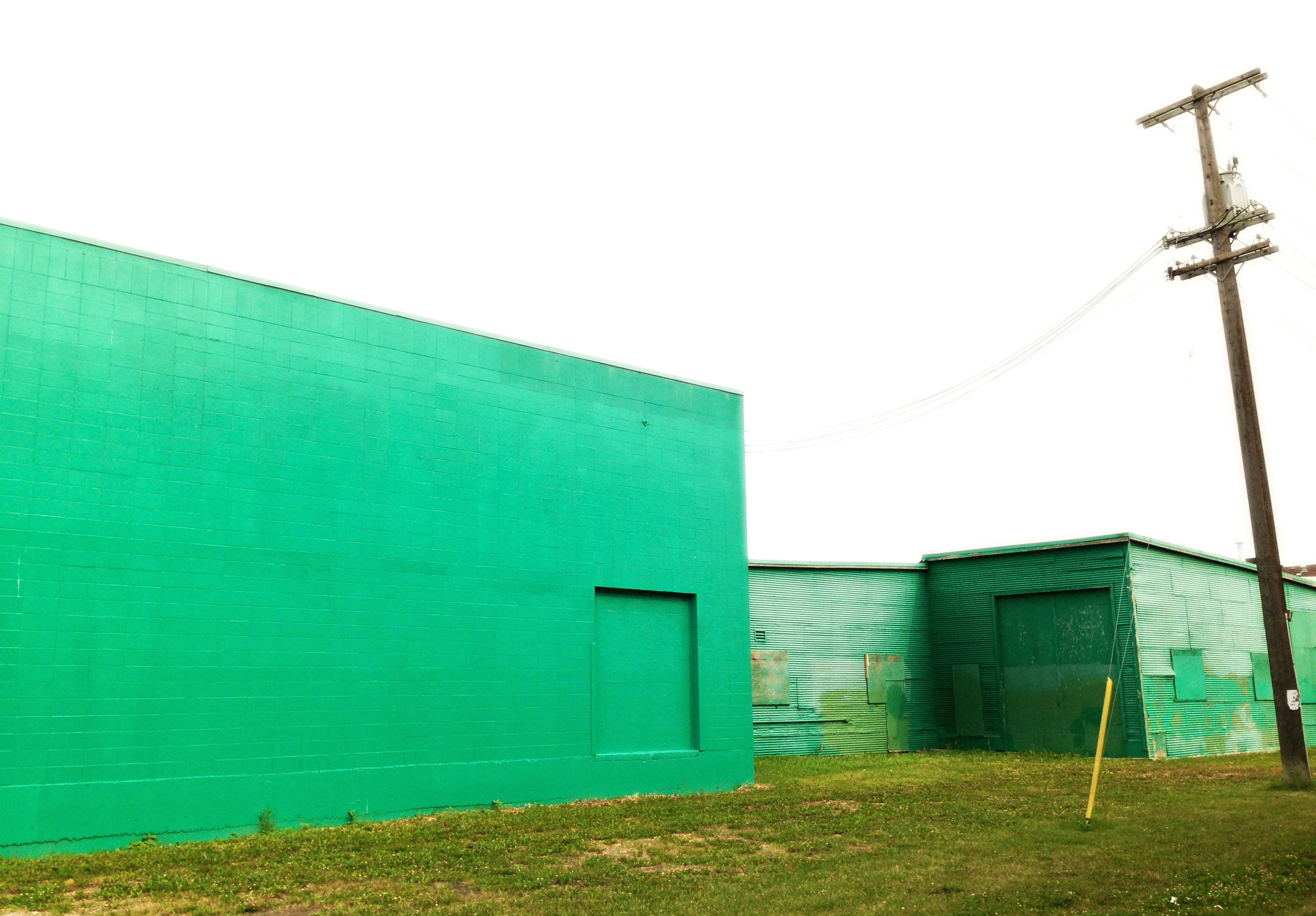 Green Building  121 Street @ 107 Ave, Edmonton, Alberta, VHS, August 2014