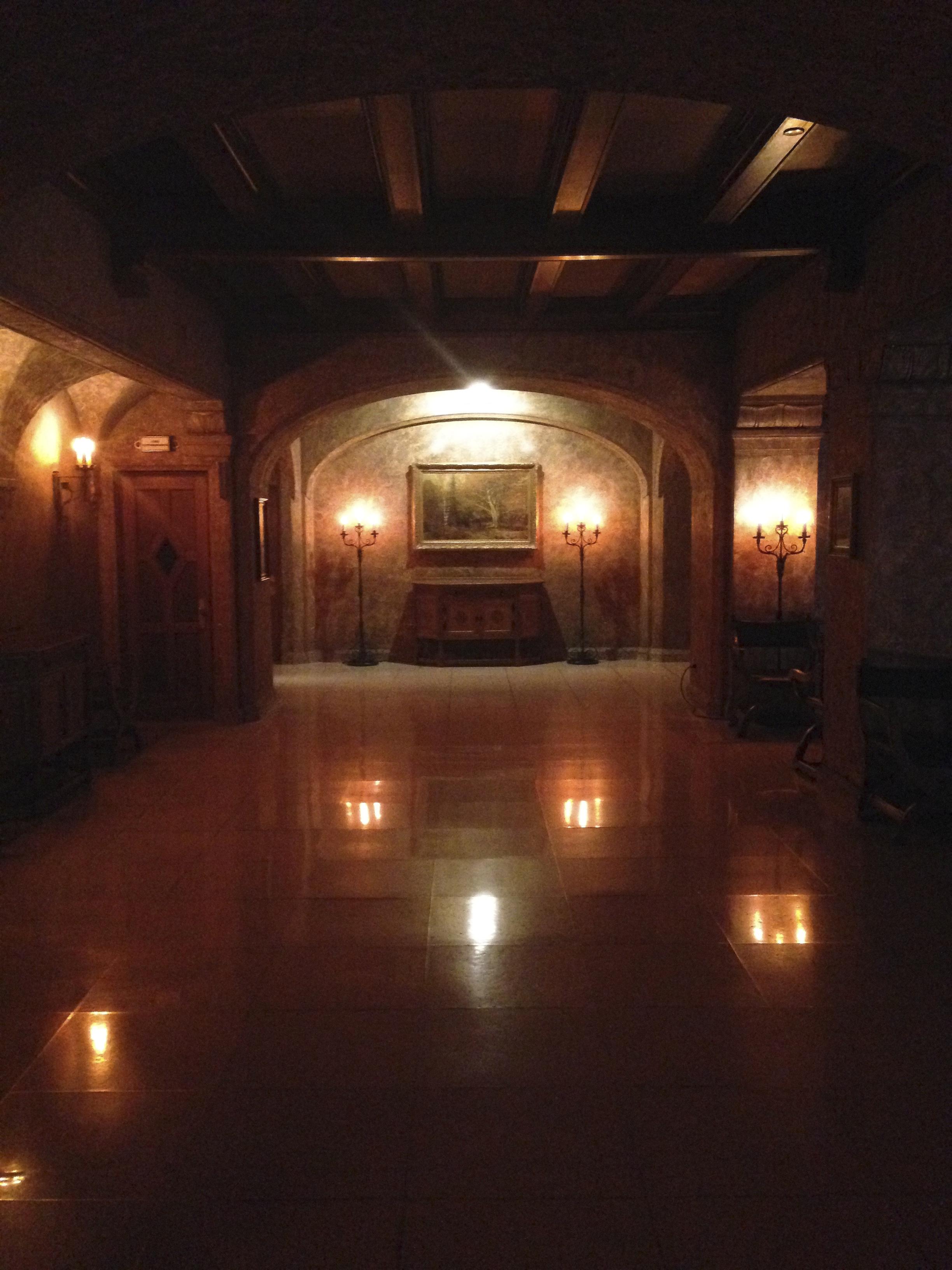Hall at Knight  Banff Springs Hotel, Banff,Alberta, VHS April2015