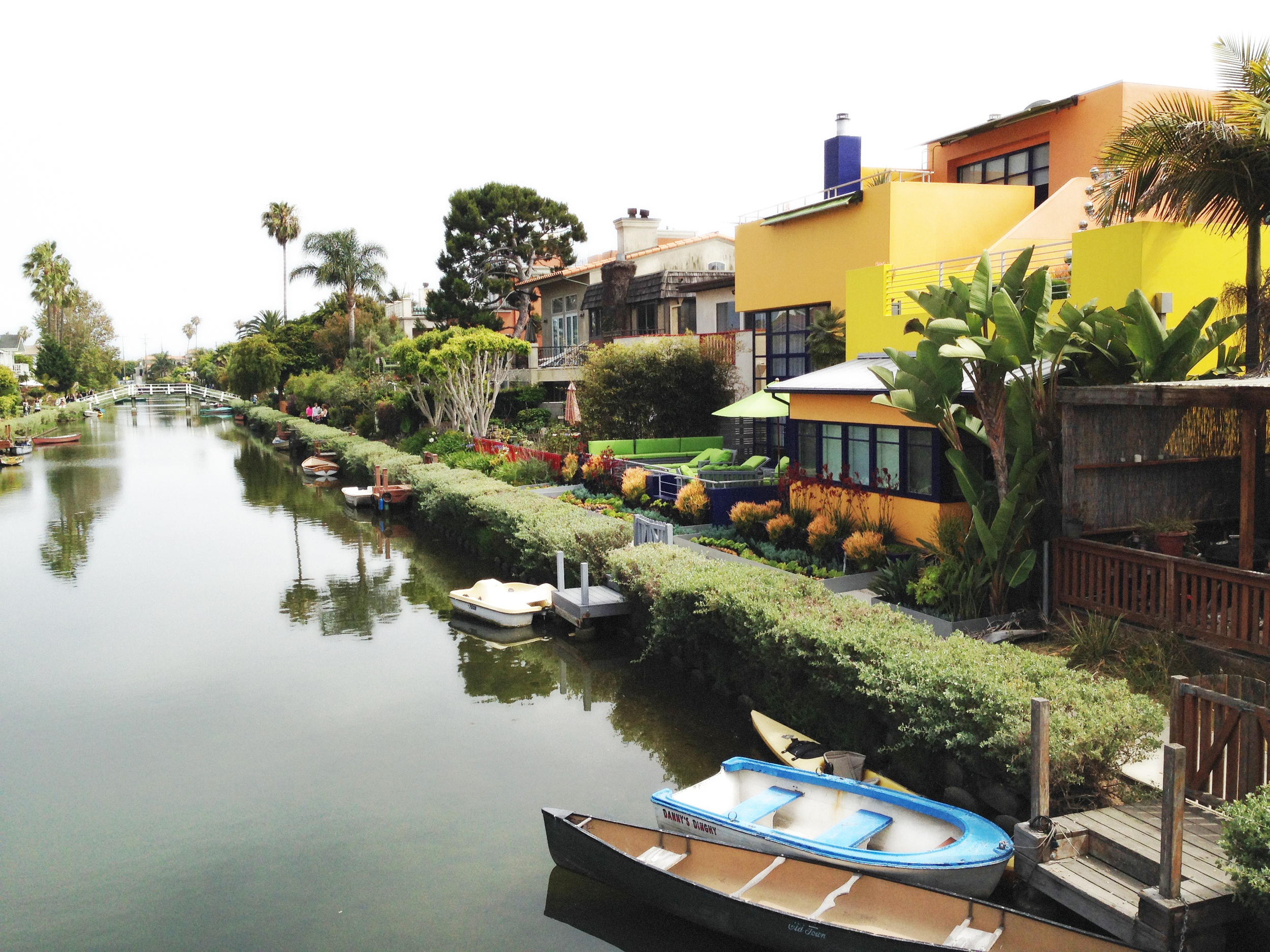 Venice Beach Canals  Venice Beach, Los Angeles, California,VHS 2015