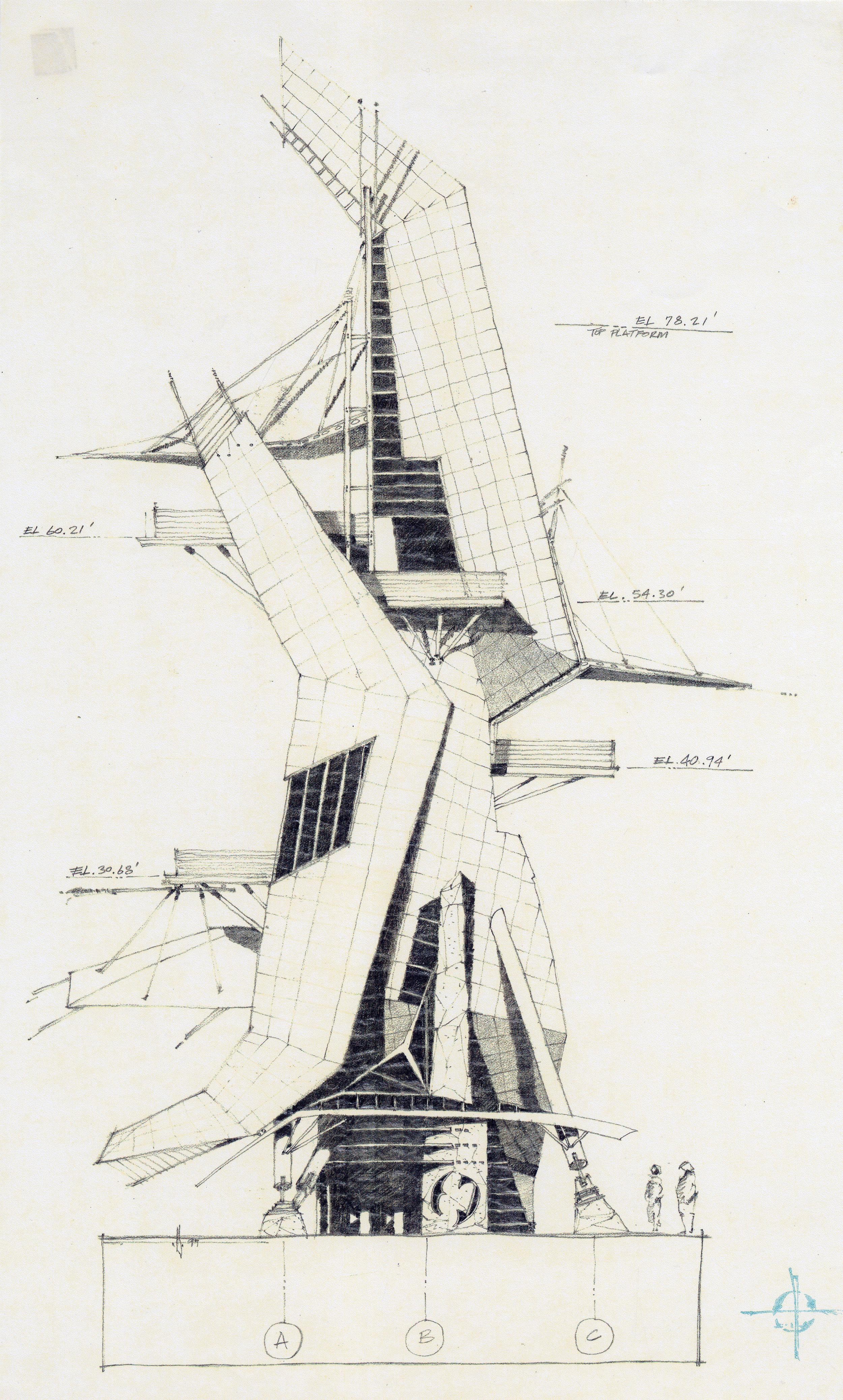 The Lantern - High speed water slide towers