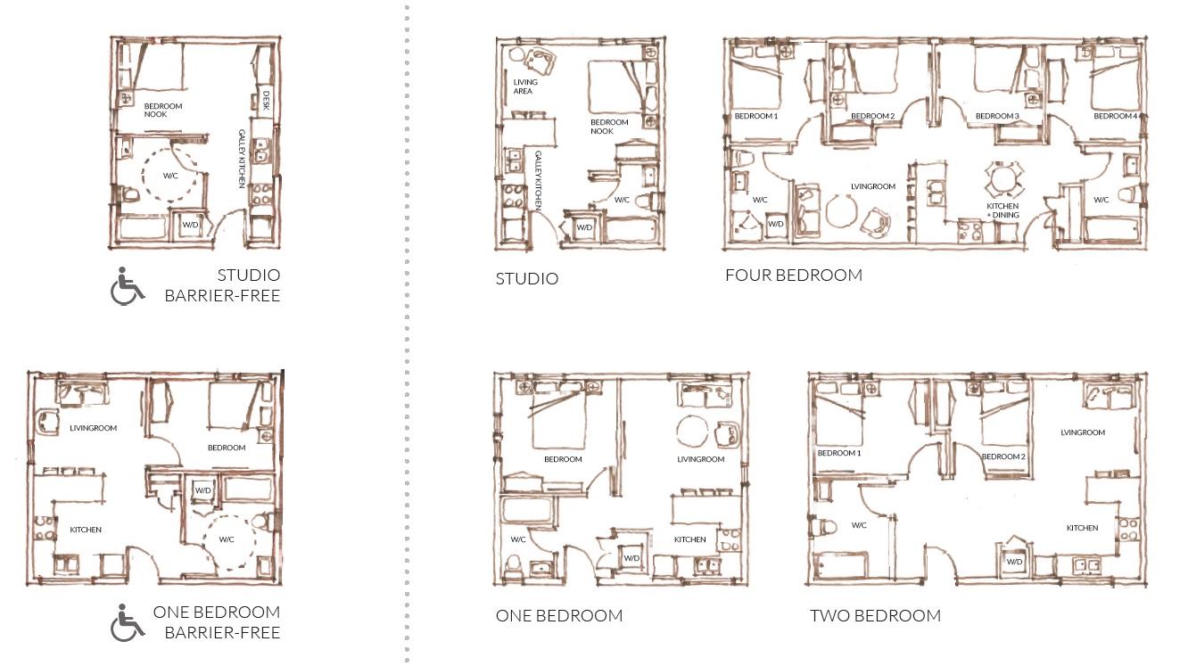 Typical Unit Plan Types