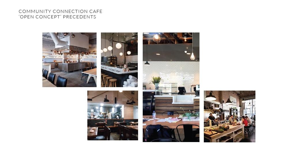 Connection Cafe precedent