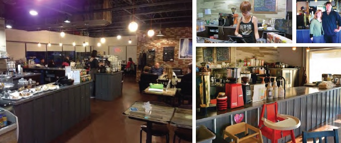 Common Ground Cafe, Sherwood Park, Alberta - community space precedent