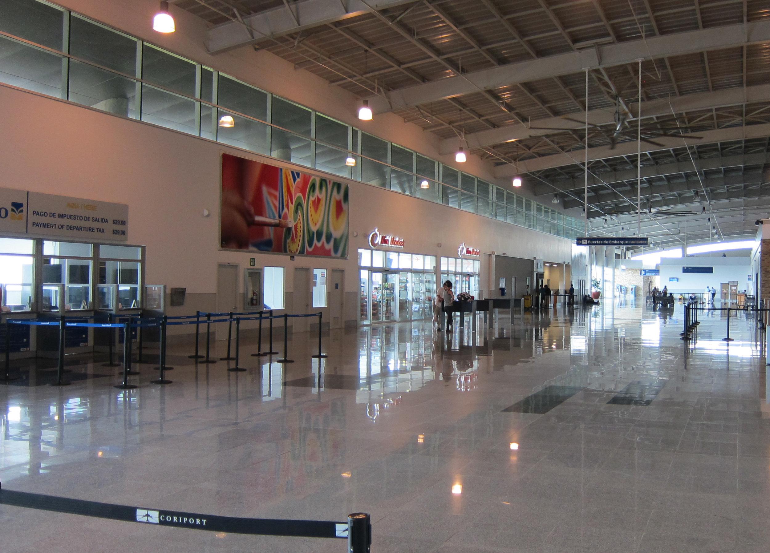 Departure Terminal at Airport