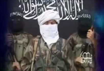 Turkistan Islamic Party video that aired before the 2008 Beijing Olympics.
