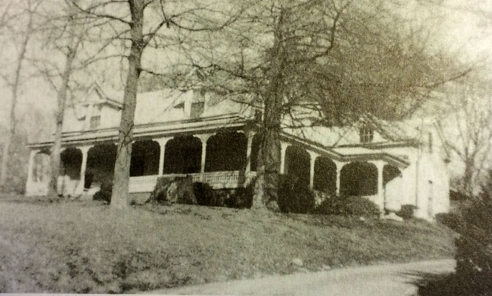 Napoleon Cheshire's Farm House (used to stand across the street from the Cheshire Farm Trailhead on Cheshire Bridge Road)