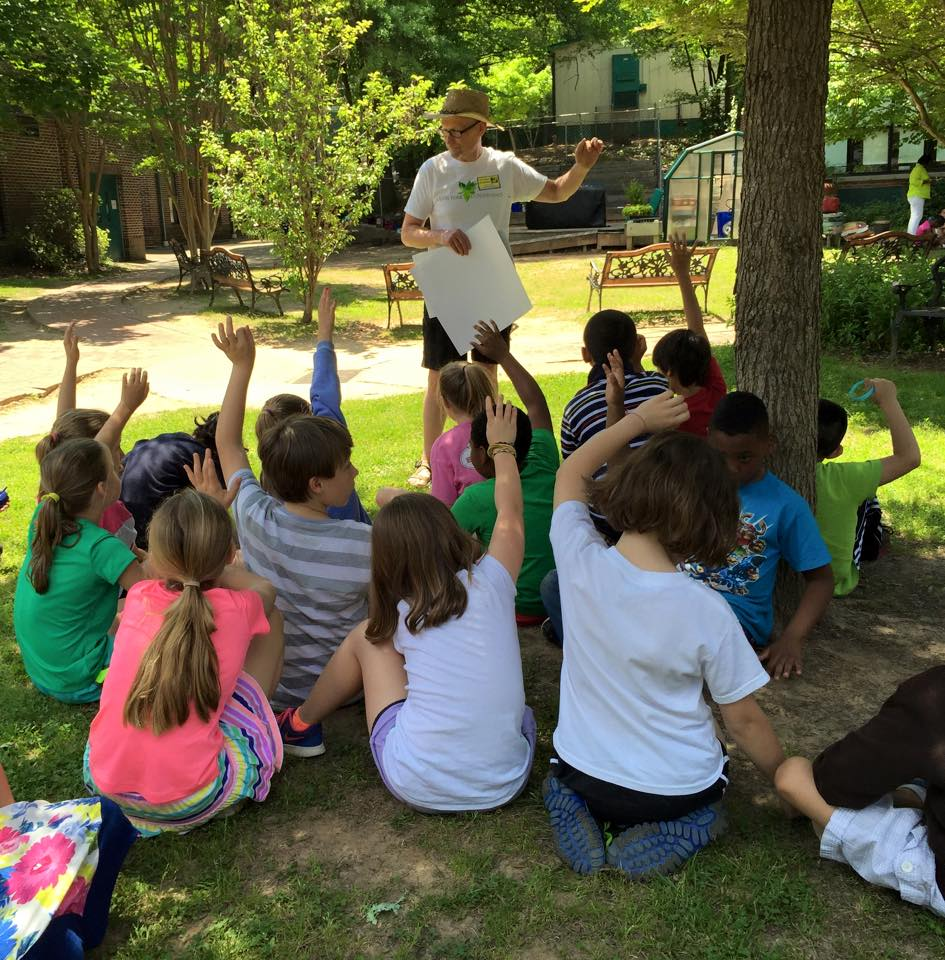 Where does the playground water flow? Into the South Fork, these students learned.