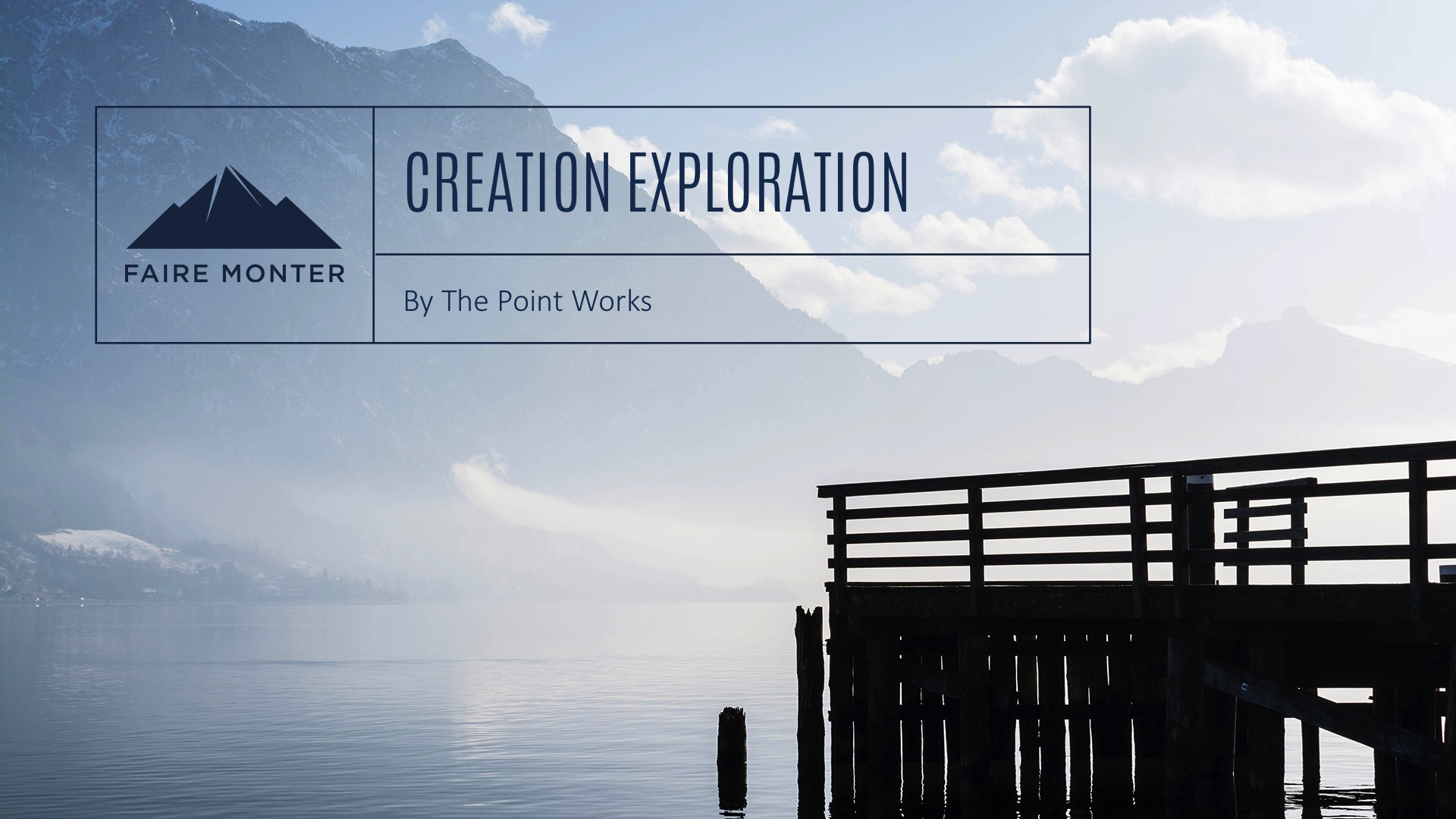 Creation Exploration