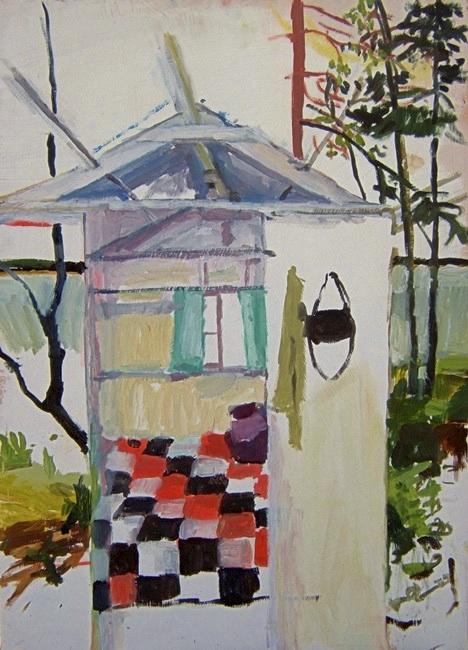 "Pat. Oil on birch panel. 18"" x 24"" 2009 (series of 8)"