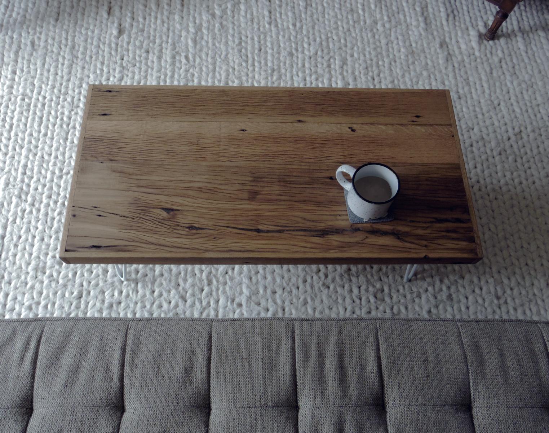 Mid-Modern Reclaimed Wood Coffee Table — MODERN ARKS