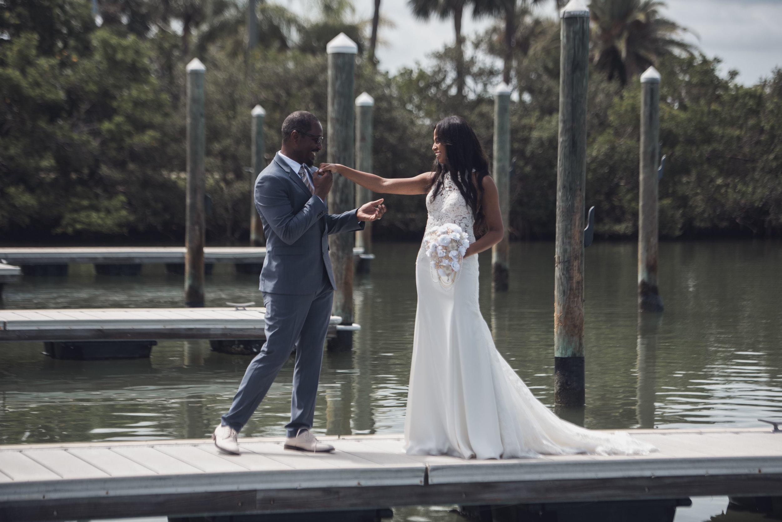 Wedding Clearwater Island Way Grill 13
