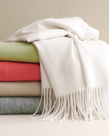 Wool and Cashmere throw a must for every Home Gig Photo Shoot!