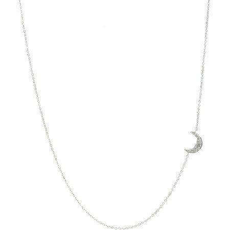 Luna necklace in Diamonds