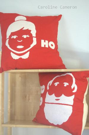Ho Ho Ho Cushions