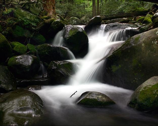 bigstock_Smoky_Mountain_Waterfalls_259562