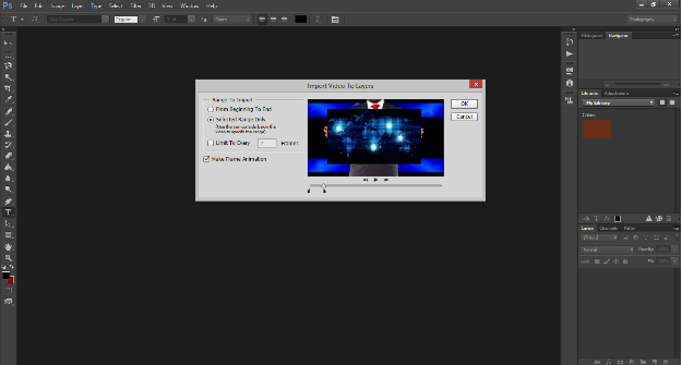 Screen shot image of Photoshop Layers tool.