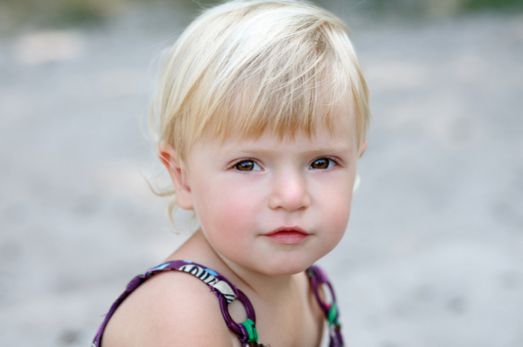 Stock photo of young child.