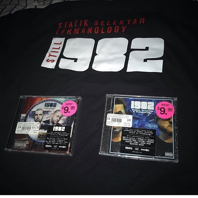 "R/P @billthewill603 ""STILL 1982"" Long tee via @since1982nyc #1982 #STILL1982 #TermGear #Termanology #STatikSelektah"
