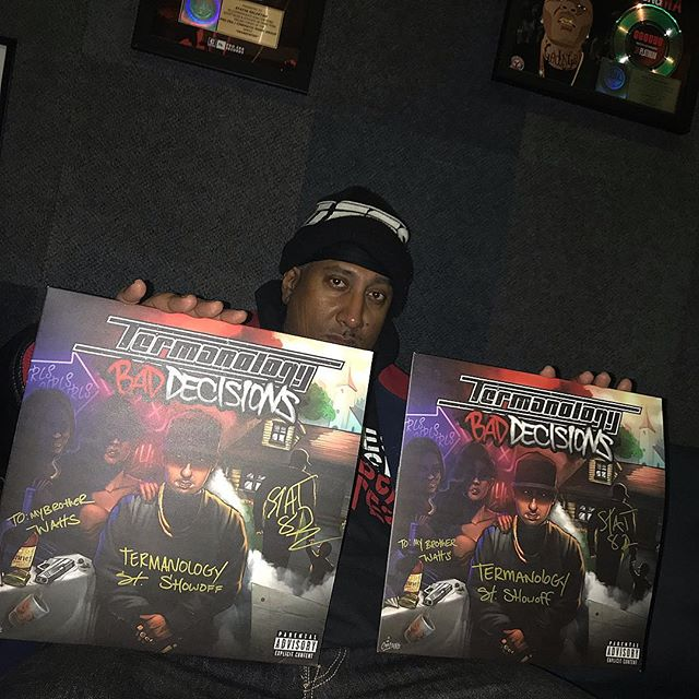 Shout out @rawwattage he got his autographed copys of Bad Decisions on vinyl. #BadDecisionsLp