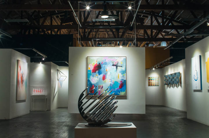 """You Can't Keep Spring From Coming"" at H Gallery in Ventura, California ~ photo credit:    Cameron Hurdus    and    Dab Art   ."
