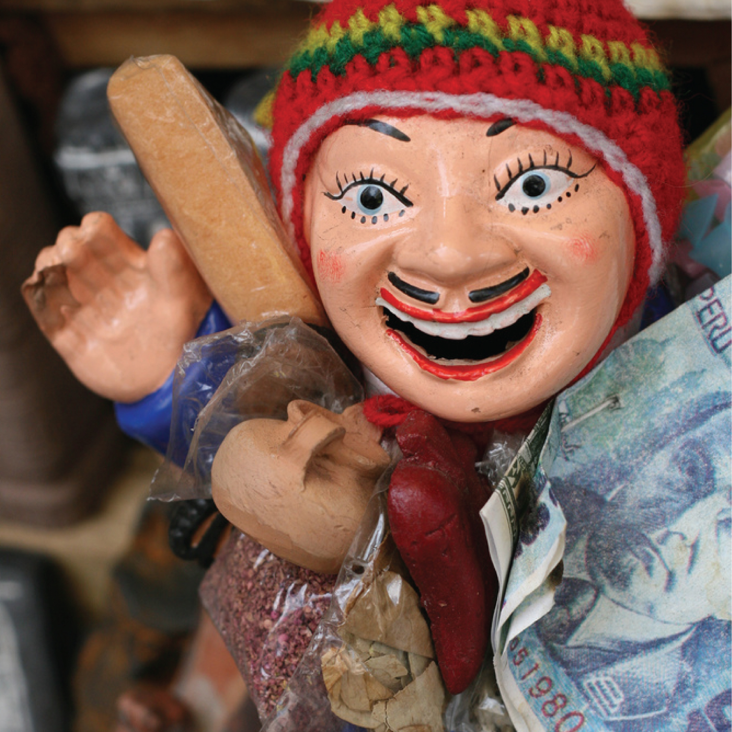 bolivian good luck charm (for financial success!)