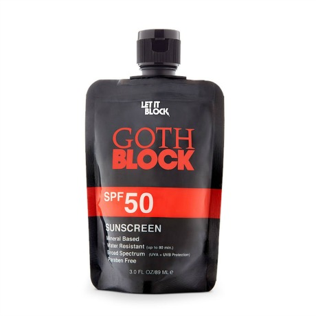 Let It Block Goth Block from  Beauty.com