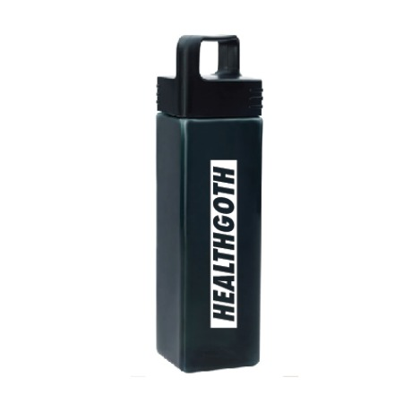 Water bottle from  HealthGoth