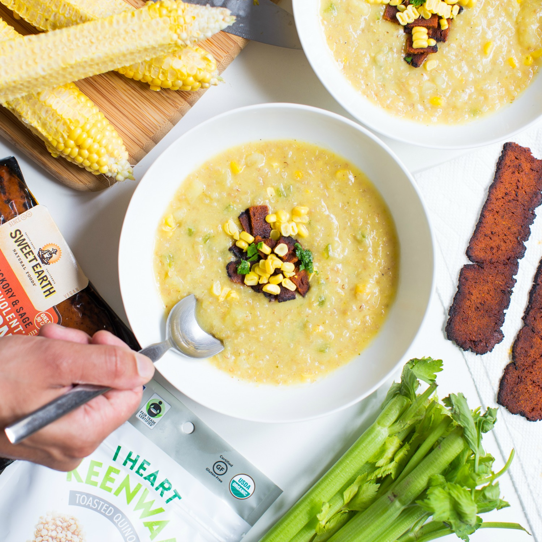 SweetEarth Vegan Bacon Corn Quinoa Chowder.jpg