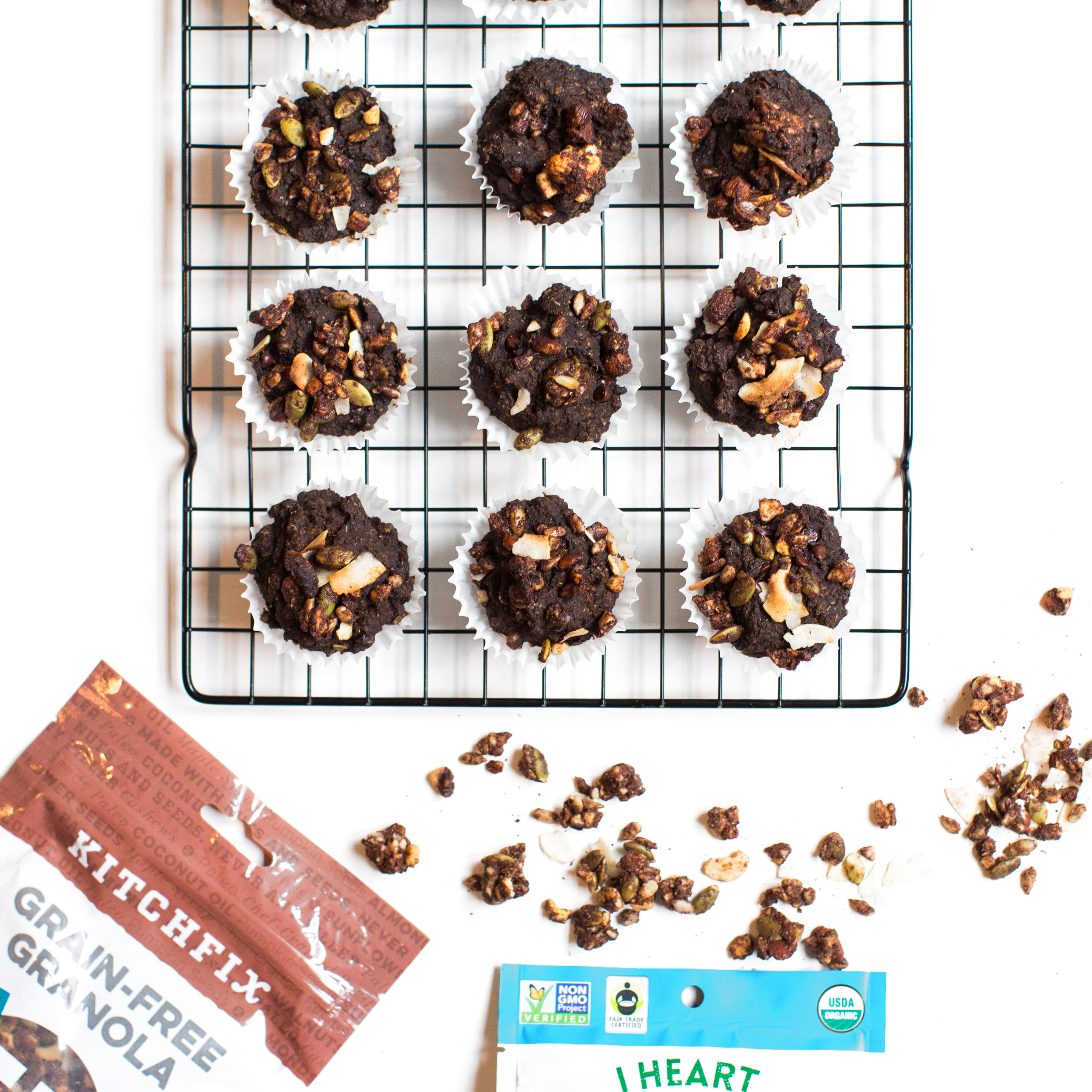 Recipe Collab Superfood Muffins I Heart Keenwah