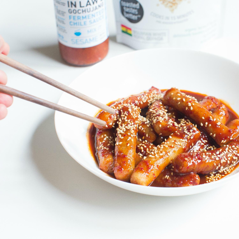 Quinoa Cakes Dok Bokki in Spicy Gochujang.jpg (1).jpg