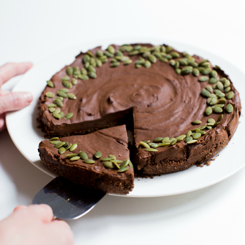 Chocolate Pumpkin Silk Tart – Gluten-Free Recipe – Allergy Free Recipe