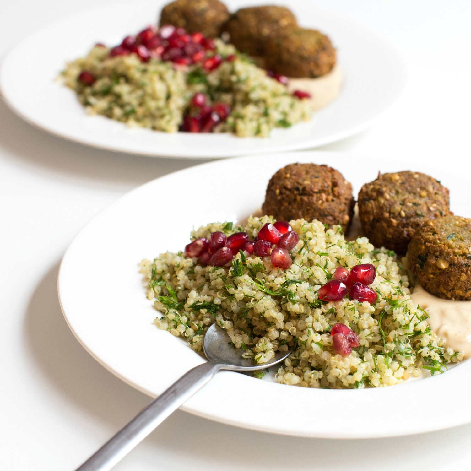Lemon Dill Toasted Quinoa with Falafel and Pomegranate (1).jpg