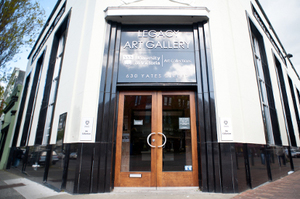 Legacy Art Gallery, downtown Victoria