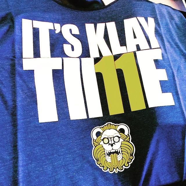 Let's go warriors! #dubnation #keepcalmcurryon #itsklaytime #dubs #closeemout #nba #playoffs #bayarea #goldenstate